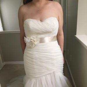 Mori Lee Ivory Wedding Dress 5108